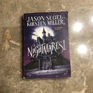 Nightmares Book by Jason Segel and Kirsten Miller